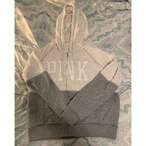 PINK zip up 🤍